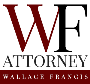Northern California Attorney Wallace Francis Mobile Retina Logo